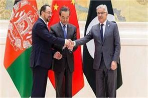 china afghanistan and pakistan agree on trilateral cooperation