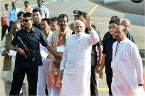 prime minister modi will visit the tour for many projects