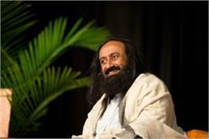 sri sri ravi shankar strongly heavily on dineshwar sharma