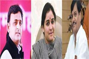 aparna yadav gave a big statement on the resentment between akhilesh and shivpal