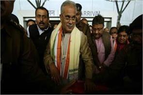 chhattisgarh bhupesh baghel to be sworn in today s cm post