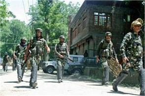 srinagar security forces have carried out two terrorists in mujagund encounter