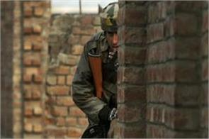 three terrorists surrounded by security forces in shopian