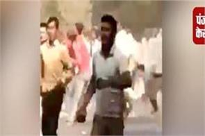 new video viral of bulandshahr violence sumit showing stones at police