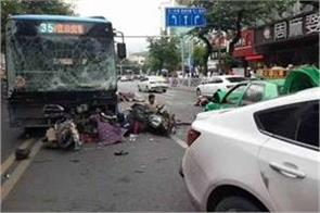 8 killed 22 injured china bus hijacking