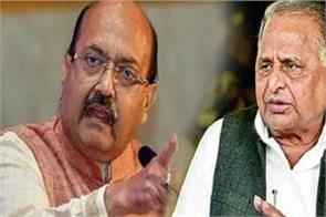 mulayam goes down in front of the crow amar