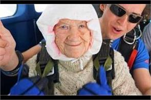 102 year old australian woman sets skydiving record