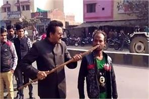 bjp leader s ill fated video viral dabish giving police for arrest