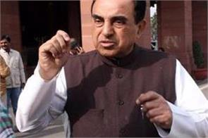 subramaniam swamy raises questions on rbi governor das