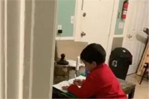 us 6 year old boy uses alexa to solve math homework