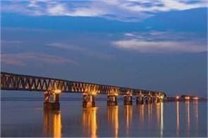 pm modi to inaugurate the country s longest bridge tomorrow
