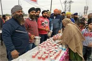 nagar kirtan organised in the memory of sahibjadas