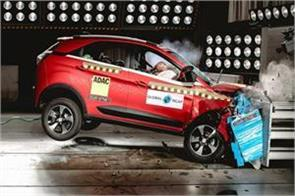 india s first car tata nexon 5 star anand mahindra congratulates