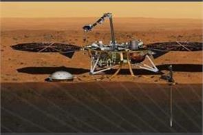 mars insight lander seen in first images from space nasa