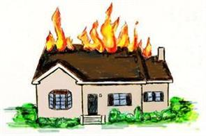 fire engulf marriage house in mareen kathua