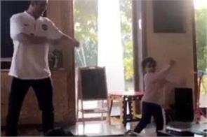 dhoni can not dance like a jiva