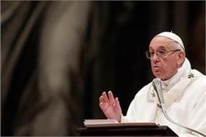 pope says xmas not about consumerism