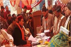 dhan singh rawat listened to problems of the public