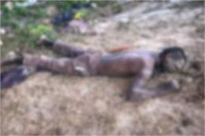 unidentified dead body found in samba