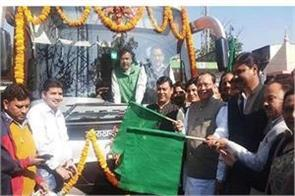 first electric bus launches from haldwani to nainital