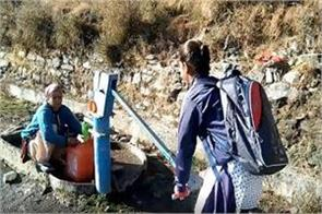 water not reached in this village of dehradun