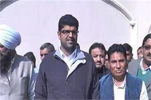 former legislator krishan kambhoj made elaan by the bjp