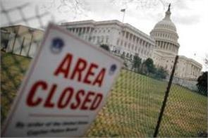 after holidays in america partial closure of government