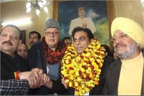 gagan bhagat joined national confrence