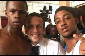 facebook block photo of president macron