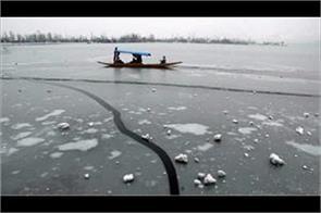 cold wave srippled kashmir valley and jammu region