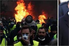 french pm to announce u turn of fuel tax hikes to end violent protests
