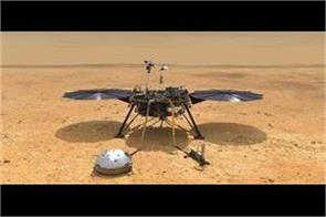 nasa s insight places first instrument on mars