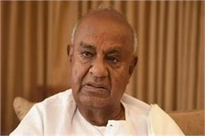 devgowda angry with not being included in the inauguration of bogibeel bridge