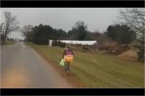 us dad makes daughter walk eight kilometres to school as punishment