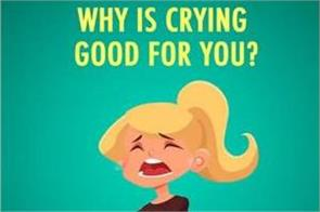 why is crying good for you