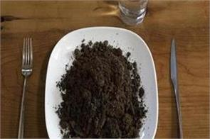 lose weight by eating soil