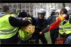 yellow vest  protests spread to belgium netherlands