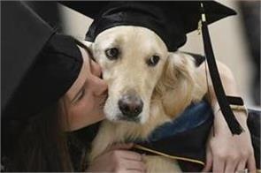 us service dog gets honorary diploma