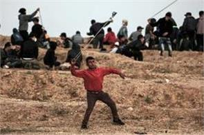 gaza 15 year old boy among four dead as israeli soldiers firing