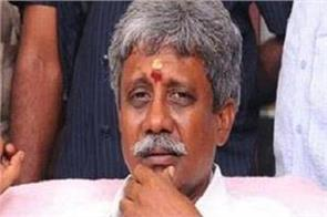bjp mla manikyal rao resigns serious charges imposed on cm chandrababu
