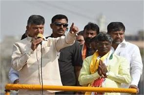 naidu says the use of the cbi to disturb the opponents