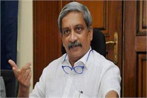 parrikar speaking on rafael verdict  satyamev jayate