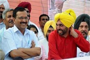 lok sabha elections arvind kejriwal bhagwant mann rallys