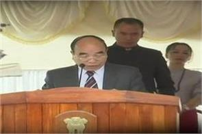 joramthanga sworn in as new chief minister of mizoram
