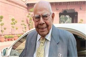 ram jethmalani takes a lawsuit against bjp