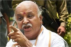 modi government responsible for farmers  suicides togadia