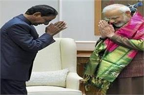 telangana chief minister meets modi discussions on pending projects