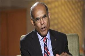 subbarao says new governor will be responsible for restoring credibility