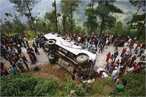big road accident in nepal 16 killed 11 injured