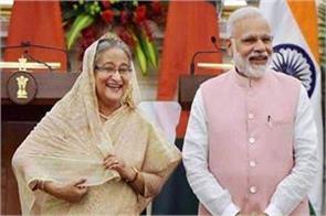 pm modi congratulates bangladeshi prime minister haseena on election victory
